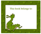Dragon Bookplates