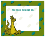 Dragon Fantasy Bookplates