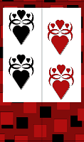 Gothic Hearts Bookmark