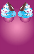 Ice Cream Sprinkles Purple Bookmark