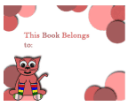 Pink Cat Bookplates