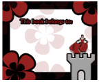 Princess Castle Bookplates