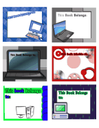 Technology Bookplates Assorted