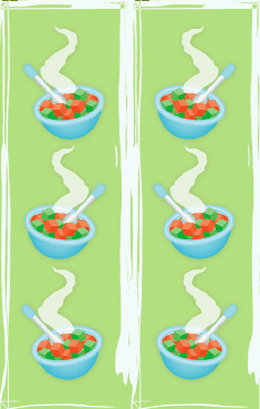 Baby Food Bookmark bookmark