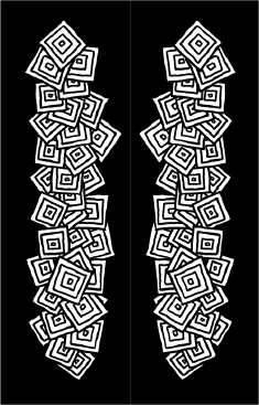Black White Squares Bookmark bookmark