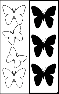 Butterfly Bookmark bookmark