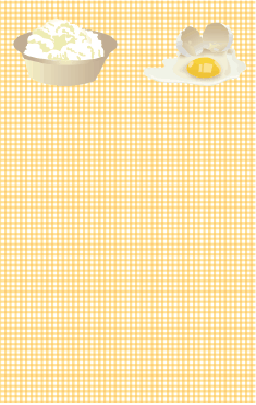 Eggs Yellow Gingham Bookmark bookmark