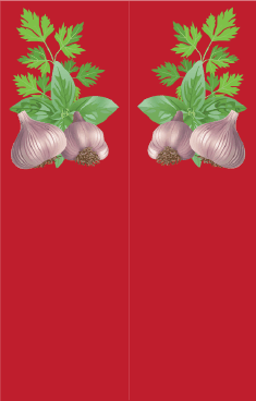 Garlic Red Bookmark bookmark