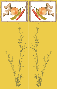 Ginger Yellow Bookmark bookmark