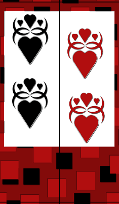 Gothic Hearts Bookmark bookmark