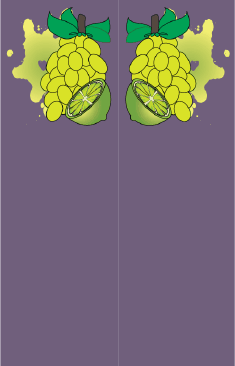Grapes Citrus Purple Bookmark bookmark