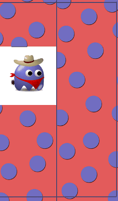 Monster Cowboy Bookmark bookmark