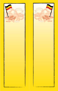 Sausages German Bookmark bookmark