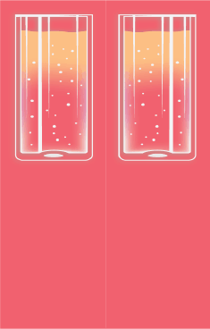 Tall Drink Pink Bookmark bookmark