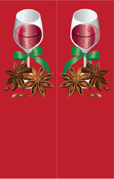 Red Wine Bookmark bookmark